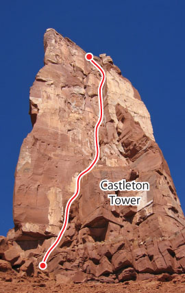 Kor-Ingalls, Desert Towers Route Photo