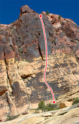 Armatron, Red Rocks Route Photo