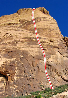 Levitation 29, Red Rocks Route Photo