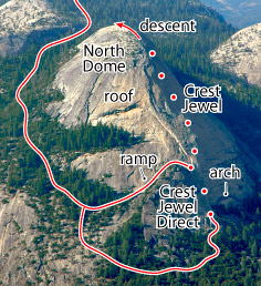 Crest Jewel, Tuolumne Route Photo