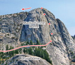Hobbit Book, Tuolumne Route Photo