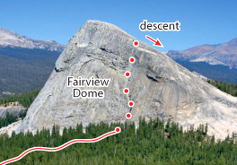 Lucky Streaks, Tuolumne Route Photo
