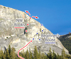 Northwest Books, Tuolumne Route Photo