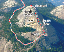 South Face, Tuolumne Route Photo